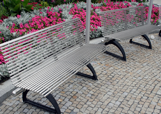 Pine Bluff, AR Stainless Steel Benches